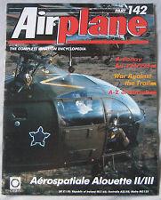 Airplane Issue 142 Aerospatiale Alouette II/III cutaway, Antonov An-124/225