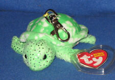 TY KEY CLIPS - SUNRISE THE TURTLE - MINT with MINT TAGS