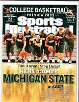 November 21, 2005 Michigan State Spartans Regional SPORTS ILLUSTRATED NO LABEL A