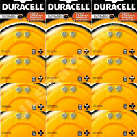 24 LR44H GENUINE  DURACELL Alkaline coin Fish Batteries