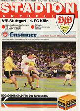 BL 86/87  VfB Stuttgart - 1. FC Köln