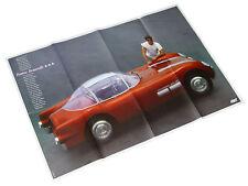 Pontiac Bonneville 1954 Poster Beilage Opel Start Auto PKWs US Car Automobilia