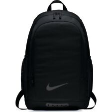 caa679106182 Nike Academy Plain Black Rucksack Backpack Sports Football Bag Christmas  2018