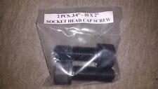"""3/4"""" - 10 x 2.0"""" Shcs Socket Head Cap Screws 2 pcs. Great Deal For You Today!"""