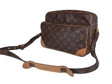 LOUIS VUITTON Vintage Nile Monogram Canvas Crossbody Shoulder Bag LS3134