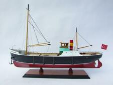 Schiffsmodell LA TOISON D'OR, Rumpflänge ca. 60 cm, Handarbeit  Holz,  montiert