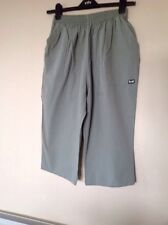 Kensil Beach XXL Spanish Elasticated Waist Cropped Trousers