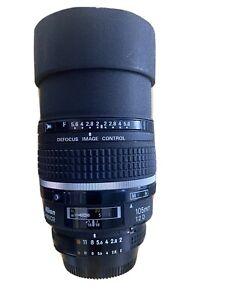 Nikon AF DC NIKKOR 105mm f/2D Defocus Image Control