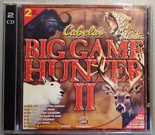 Cabela's Big Game Hunter II - CD-ROM - VERY GOOD
