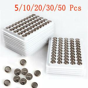 5/10/20/30Stück Knopfbatterien AG13/LR44 Battery 1.55V LED Knopfzelle Batterie