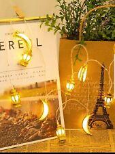 10 LED Ramadan Eid String Fairy Lights Party Décor Lantern Castle Islamic