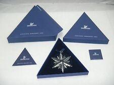 Swarovski Crystal 2006 Annual Snowflake Star Christmas Ornament Brand New in Box