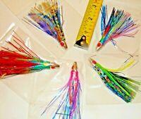 Saltwater Offshore Trolling Fishing Lure Mahi Tuna Wahoo Ono Dorado Bullet Bait