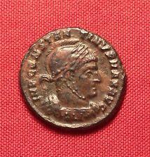 Ancient Roman Bronze AE3 Coin, Constantinus