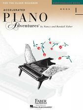 Accelerated Piano Adventures for the Older Beginner Performance Book 1 000420229