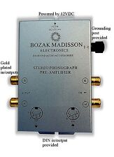 New listing Bozak M Clk-Ph8 Phono Preamp Preamplifier Turntable Amplifier Pre-Amp Din in/out