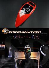 BMW E89 E90 E91 E92 E81 E84 E87 Red A75 LED Shift Gear Knob LHD w/Gear Position