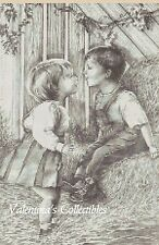 First Kiss Counted Cross Stitch COMPLETE KIT No. 5-BW2