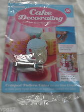 DeAGOSTINI CAKE DECORATING MAGAZINE  WAVE CRIMPER  No 56  NEW