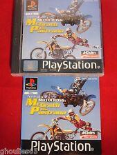 FREESTYLE MOTOCROSS MCGRATH VS PASTRANA PLAYSTATION 1 MOTO CROSS PS1 PS2 PS3