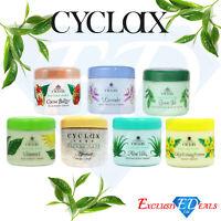 Cyclax Face & Body Creams Aloe Vera Vitamin E Lavender Primrose Apricot 300ml