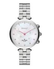 Kate Spade Women's Silver Holland Hybrid Bracelet Watch 0721