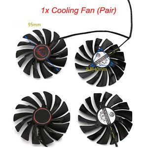 Ventilateur refroidissement carte graphique pour GeForce GTX 960 GAMING 4G
