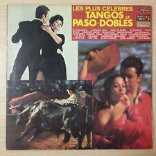 LES PLUS CÉLÈBRES TANGOS ET PASO-DOBLES - ALBUM DOUBLE VINYLE 33 TOURS