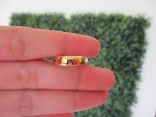 Yellow Gold Mens Wedding Ring 18k WR127 sep