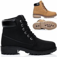 Unbranded Women's Combat Lace Up Boots