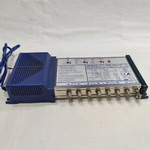 Spaun Compact Multi-Switch for 4 SAT If Signals. PN: SMS 8502 NF.