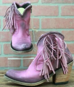 Pink Liberty Black Women's Vegas Napa Cobre Fashion Booties LB-712320 Size 5 M
