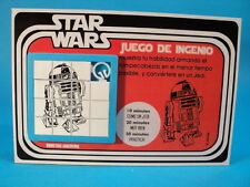 STAR WARS * R2-D2 DROID * SLIDE SLIDING PUZZLE SKILL GAME CARDED ARGENTINA