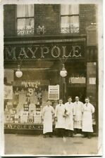 KIRKDALE - BOOTLE - STANLEY ROAD - MAYPOLE DAIRY - OLD REAL PHOTO POSTCARD