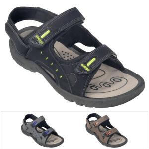 Outdoor Herren Trekking Sandalen Damen Sandale Klett Schuhe Jungen Neu S-Z133