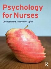 Psychology for Nurses by Upton, Dominic Paperback Book The Cheap Fast Free Post