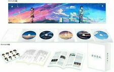 Your Name Kimi no Na wa Blu-ray Collectors Edition 4K Ultra HD 5 Disc Booklet