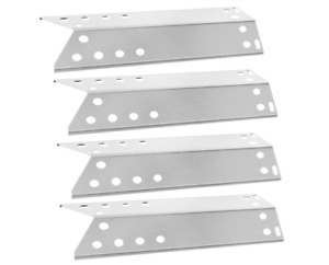 BBQ Grill Stainless Steel Heat Plate Kenmore Nexgrill Replacement Parts 4 Pack