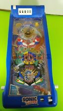 Sonic the Hedgehog Pinball Tabletop Game, toy, TOMY, 1992, Partially Working