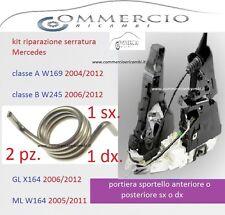 x chiusura serratura mercedes GL X164 ML W164 R W251 ant. post. sx dx kit 2 rip.