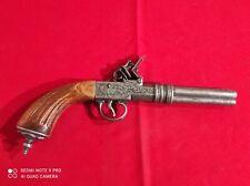 Jolie réplique d'un pistolet à silex canon tournant Iprobin 1775 - 33cm de long