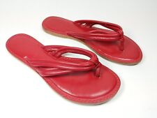 Next red leather sandals uk 5 eu 38
