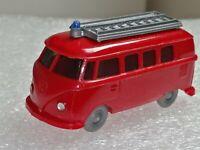 Wiking ( 603/4 )  - VW Bus T1 Feuerwehr , hellrot, 60er Jahre , T@P