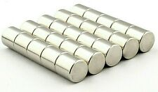 Super Strong Magnets 6mm x 6mm Powerful * 1.6Kg PULL * Disc Magnet round 1.5Kg