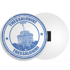 Thessaloniki City Greece Fridge Magnet - Cool Holiday Travel Souvenir Gift #4578