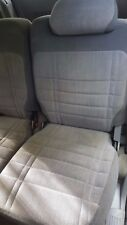 1997 FORD EXPLORER LH DRIVER SIDE REAR BACK SEAT GREY CLOTH OEM NO RIPS NO TEARS