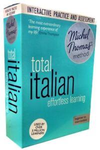 Michel Thomas Method Audio Book Total Italian for Beginner CD Collection Box Set