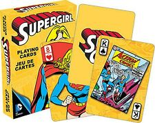 SUPERGIRL DC COMICS LOT DE 52 cartes à jouer (NM 52355)