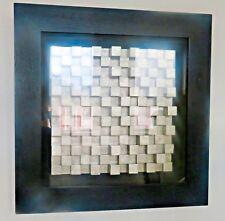 Wanddeko Wandbild Art Design 80x80cm Ausstellungsstück  3D Modern Wandschmuck