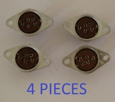 SOC54NC Nuvistor Chassis Socket 4 piece NOS tube valve